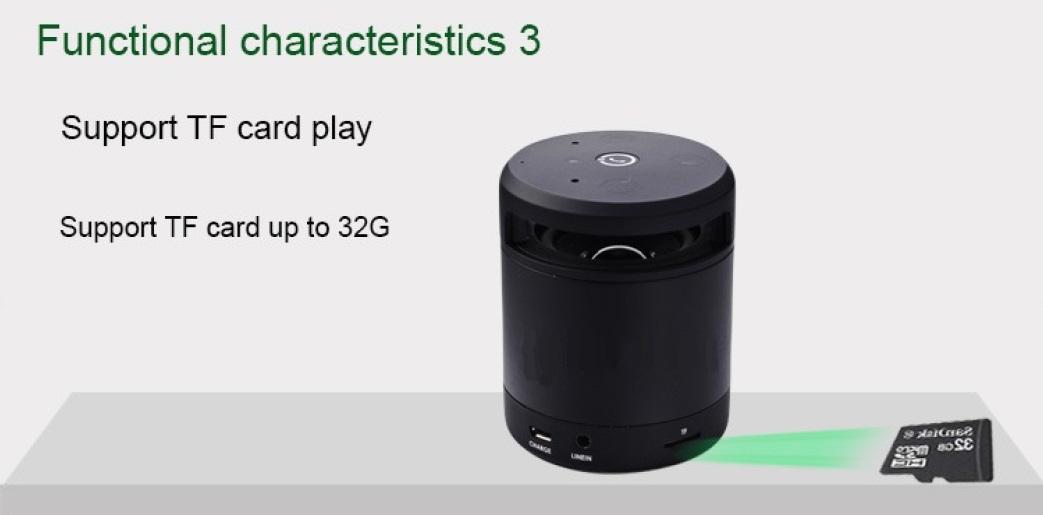 Bluetooth Speaker Charateristics 3